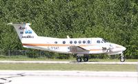 C-FSAT @ CYZH - Alberta Air Ambulance - by William Heather