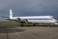 C-FVFI @ CYQF - Air Spray Lockheed Electra - by Yakfreak - VAP