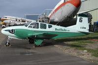 C-GYFM @ CYQF - Buffalo Airways Beech 95