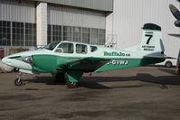C-GIWJ @ CYQF - Buffalo Airways Beech 95