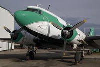 CF-CUE @ CYQF - Buffalo AIrways DC3 - by Yakfreak - VAP