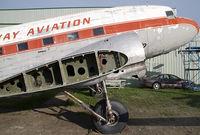 CF-JWP @ CYQF - Gateway Airlines DC3