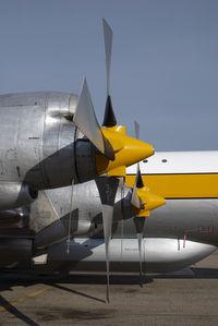 C-GZVM @ CYQF - Air Spray Lockheed Electra
