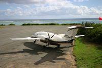 N109MS @ TUPW - Piaggio Avanti 109MS in British Virgin Islands. Pilot Russell Gehrke. - by Brenda Gehrke