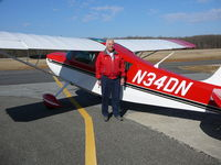 N34DN @ KFVX - Owner with Aircraft - by Alan Haddaway Sr.