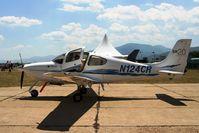N124CR @ LBPG - BIAF 09 Bulgaria Plovdiv (Krumovo) LBPG Graf Ignatievo Military Air Base - by Attila Groszvald-Groszi