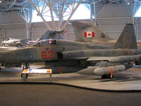 116763 @ CYRO - @ Canada Aviation Museum in Ottawa - by PeterPasieka