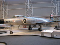 100757 @ CYRO - @ Canada Aviation Museum in Ottawa - by PeterPasieka