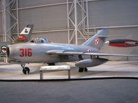 316 @ CYRO - @ Canada Aviation Museum in Ottawa - by PeterPasieka