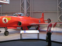 21574 @ CYRO - @ Canada Aviation Museum in Ottawa - by PeterPasieka