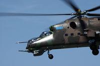 0215 @ PZY - Slovakia - Air Force Mil Mi-24D Hind - by Juergen Postl