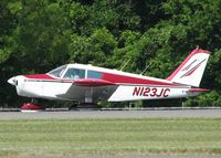 N123JC @ DTN - Taxiing to 14 for take off at Downtown Shreveport. - by paulp