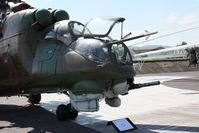 0100 @ PZY - Slovak Air Force Mi-24D Hind - by Juergen Postl