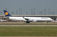 D-AIGI @ DFW - Lufthansa A340 Departing DFW