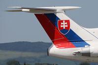 OM-BYO @ PZY - Slovak Government Flying Service Tupolev TU-154M - by Juergen Postl