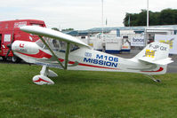 F-JPQX @ EGTB - exhibited at 2009 AeroExpo at Wycombe Air Park