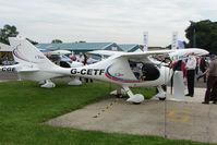 G-CETF @ EGTB - CTSW exhibited at 2009 AeroExpo at Wycombe Air Park