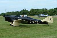 G-ADGP @ EGTB - 1935 Miles Hawk Six Visitor to 2009 AeroExpo at Wycombe Air Park