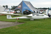 G-CHNF @ EGTB - exhibited at 2009 AeroExpo at Wycombe Air Park