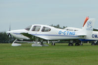 G-CTNG @ EGTB - resident Cirrus at Booker