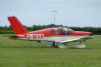 G-BIXB @ EGTB - Visitor to 2009 AeroExpo at Wycombe Air Park