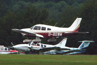 G-BGWM @ EGTB - Visitor to 2009 AeroExpo at Wycombe Air Park