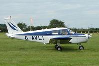 G-AVLI @ EGTB - Visitor to 2009 AeroExpo at Wycombe Air Park