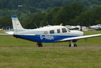 G-RIGH @ EGTB - Visitor to 2009 AeroExpo at Wycombe Air Park