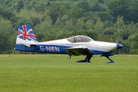 G-NIEN @ EGTB - Visitor to 2009 AeroExpo at Wycombe Air Park