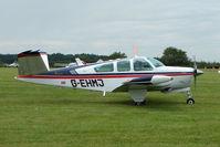 G-EHMJ @ EGTB - Visitor to 2009 AeroExpo at Wycombe Air Park