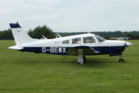 G-BEWX @ EGTB - Visitor to 2009 AeroExpo at Wycombe Air Park