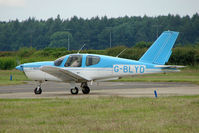 G-BLYD @ EGTB - Visitor to 2009 AeroExpo at Wycombe Air Park