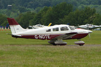 G-NOTE @ EGTB - Visitor to 2009 AeroExpo at Wycombe Air Park