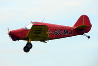 G-BGMJ @ EGTB - Visitor to 2009 AeroExpo at Wycombe Air Park