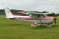 G-BRZS @ EGTB - Visitor to 2009 AeroExpo at Wycombe Air Park