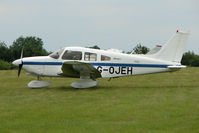 G-OJEH @ EGTB - Visitor to 2009 AeroExpo at Wycombe Air Park