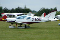 G-SCRZ @ EGTB - Visitor to 2009 AeroExpo at Wycombe Air Park