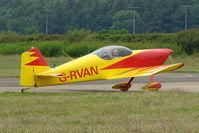 G-RVAN @ EGTB - Visitor to 2009 AeroExpo at Wycombe Air Park