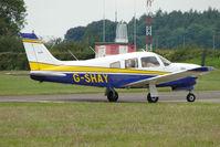 G-SHAY @ EGTB - Visitor to 2009 AeroExpo at Wycombe Air Park