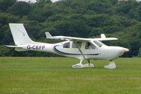 G-CEFP @ EGTB - Visitor to 2009 AeroExpo at Wycombe Air Park