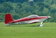 G-RISY @ EGTB - Visitor to 2009 AeroExpo at Wycombe Air Park