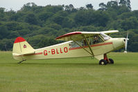 G-BLLO @ EGTB - Visitor to 2009 AeroExpo at Wycombe Air Park