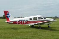 G-CETD @ EGTB - Visitor to 2009 AeroExpo at Wycombe Air Park