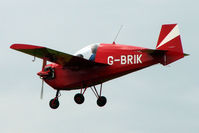 G-BRIK @ EGTB - Visitor to 2009 AeroExpo at Wycombe Air Park