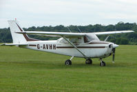 G-AVHH @ EGTB - Visitor to 2009 AeroExpo at Wycombe Air Park