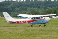 G-BYEM @ EGTB - Resident Cessna  at Booker
