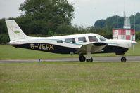 G-VERN @ EGTB - Visitor to 2009 AeroExpo at Wycombe Air Park