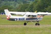 G-MABE @ EGTB - Visitor to 2009 AeroExpo at Wycombe Air Park