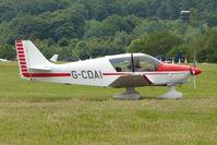G-CDAI @ EGTB - Visitor to 2009 AeroExpo at Wycombe Air Park