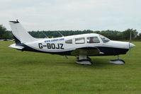 G-BOJZ @ EGTB - Visitor to 2009 AeroExpo at Wycombe Air Park